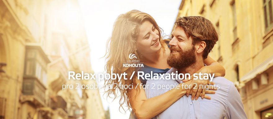 Relax pobyt pro 2 osoby
